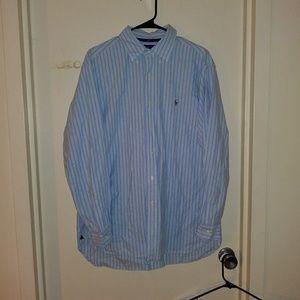 Ralph Lauren Polo Button Down shirt. Men's Large.